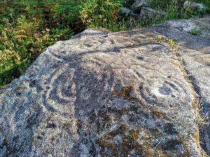 Zona inferior da rocha desde o lateral esquerdo